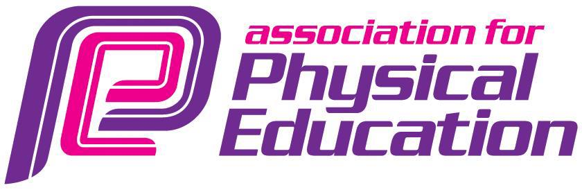Association for physical education logo